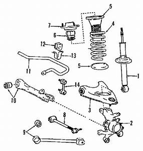 Ls400 1997 Suspension Diagram - Clublexus
