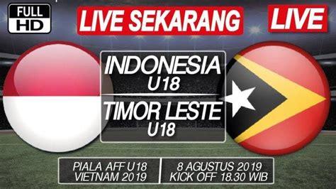 Sctv merupakan stasiun televisi swasta kedua di indonesia. SEDANG BERLANGSUNG 4 Link Live Streaming SCTV Timnas U-18 Indonesia vs Timor Leste, Nonton ...
