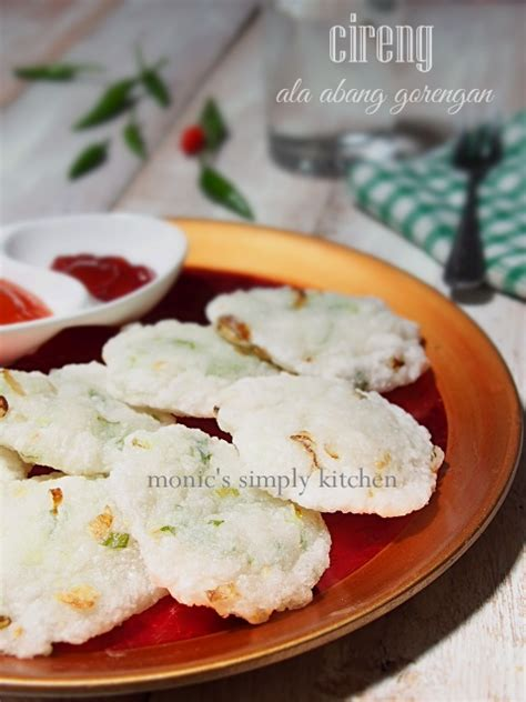 resep cireng ala abang gorengan monics simply kitchen