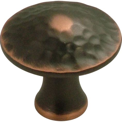 home depot cabinet knobs hickory hardware craftsman 1 1 4 in rubbed bronze