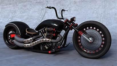 Chopper Custom Wallpapers Harley Motorcycle Choppers Davidson
