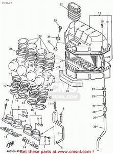 Yamaha Yzf750rc 1994  R  California Intake