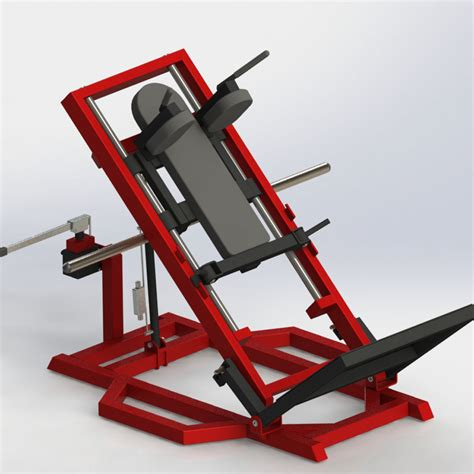 adjustable hack squat watson gym equipment