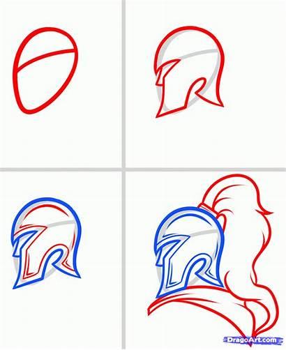 Soldier Draw Roman Step Dragoart Drawing Sketch