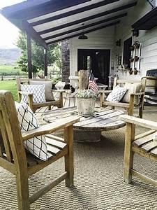 Best 25+ Farmhouse outdoor furniture ideas on Pinterest