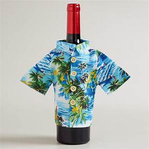 Wine Bottle Hawaiian Shirt - The Green Head
