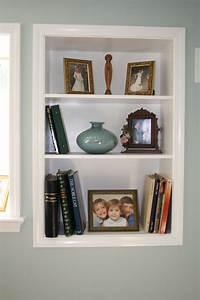 Wall, Shelves, For, Books, Design, U2013, Homesfeed