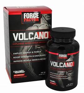 Buy Force Factor - Volcano Pre-workout Explosive Nitric Oxide Booster