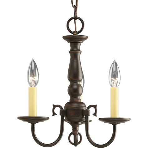 Chandeliers Lighting Collections by Progress Lighting Americana Collection 3 Light Antique