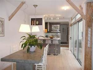 une ancienne ebenisterie renovee du sol au plafond With renovation maison exterieur avant apres 10 piscine paysagee maison amp travaux
