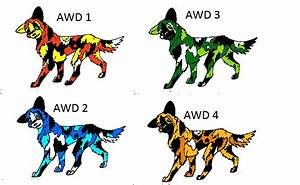 African Wild Dog Adoptables CLOSED by Wolfs-Hybrid on ...