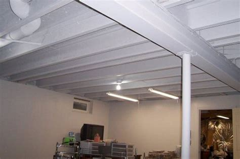 Basement Lighting Ideas Low Ceiling Led : Nice Basement