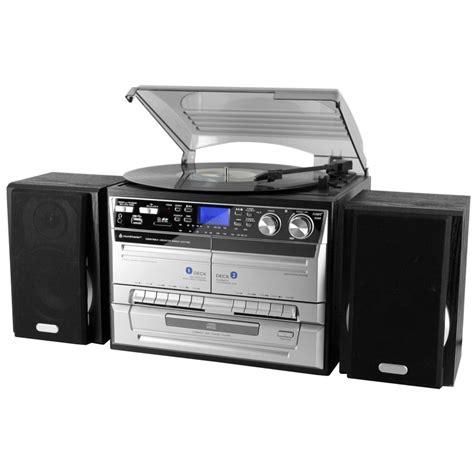 balance professionnelle cuisine chaîne hifi avec platine vinyle encodage usb sd cd radio