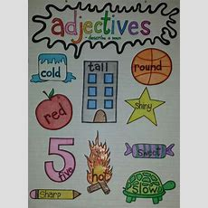 100+ Ideas To Try About School  Adjectives  Anchor Charts, Adjectives Activities And Poem