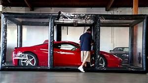 Auto In Der Garage : mit der carcapsule wird die garage zum schauraum ~ Whattoseeinmadrid.com Haus und Dekorationen