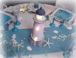 Mariage Theme Mer : d corations mariage en turquoise et blanc ~ Nature-et-papiers.com Idées de Décoration