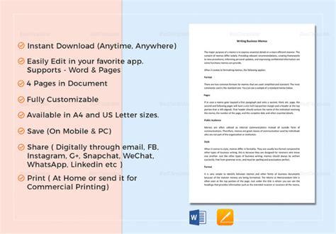 12+ Business Memo Examples & Samples