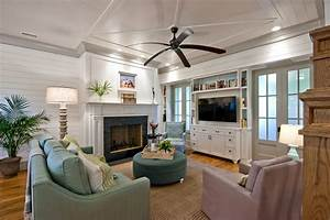 built-in-tv-cabinets-Family-Room-Traditional-with-Black