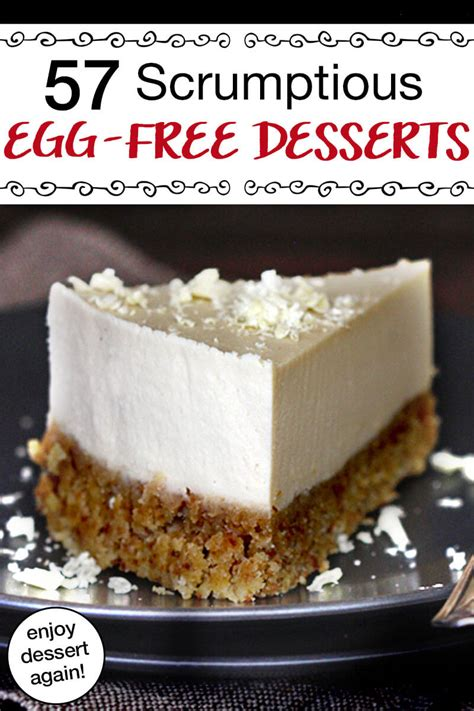 This sweet recipe is easy to make and cooked in a skillet! 57 Scrumptious Egg-Free Desserts