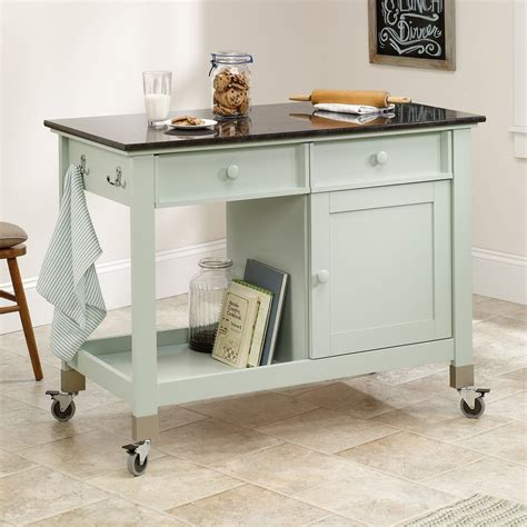 movable kitchen island with storage modern kitchen island storage cart dining portable wheels 7046