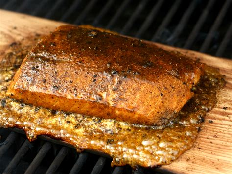 cedar planked salmon  spicy rub meals   mother