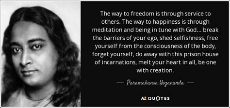 Swing Away Definition paramahansa yogananda quote the way to freedom is through
