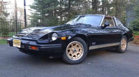 1981 Datsun 280zx Turbo by 1981 Datsun 280zx Turbo Coupe Only 39k Black And