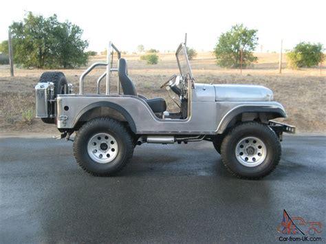 jeep body 1970 jeep cj5 handmade stainless steel body
