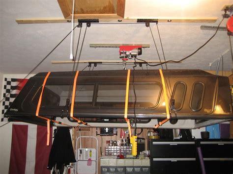 ez  truck topper  storage device  garage