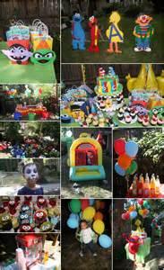 Sesame Street Theme Birthday Party