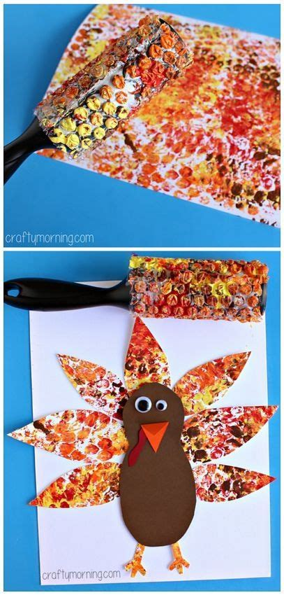 wrap printed turkey project thanksgiving craft 730 | 8e9cc807d4483dba0484c912d9f439ae