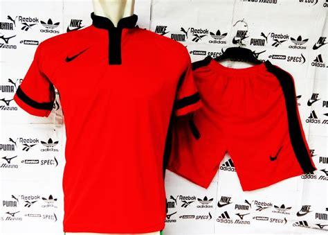 Adidas Derby Merah List Hitam jual jersey bola setelan kostum seragam futsal sepakbola
