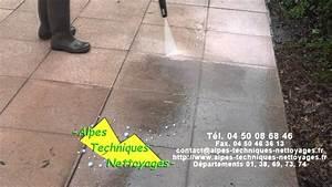 Appareil Nettoyage Sol Pour Maison : nettoyage d 39 une terrasse ext rieure pringy annecy youtube ~ Melissatoandfro.com Idées de Décoration