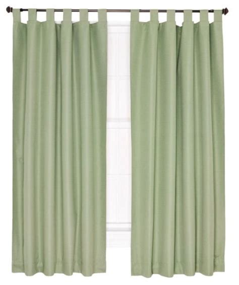 custom crosby insulated tab top 100 quot 200 quot wide curtain