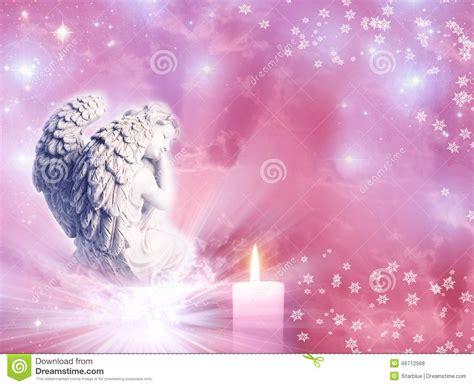 seeing flashes of white light spiritual christmas angel stock photo image 46712568