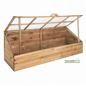 Fabriquer Une Serre En Bois : serre de jardin en bois ch ssis pour semer quadruple ~ Melissatoandfro.com Idées de Décoration