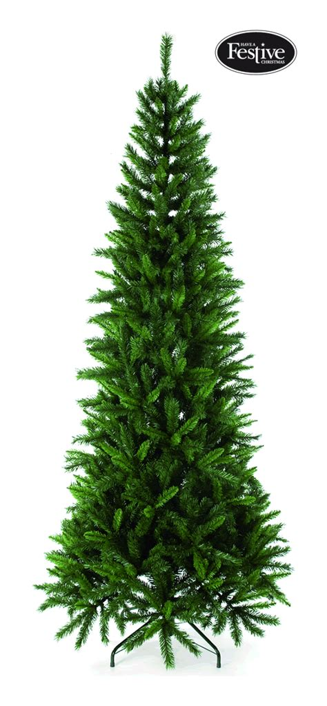 regency green slim fir 5 5ft christmas tree 163 37 04
