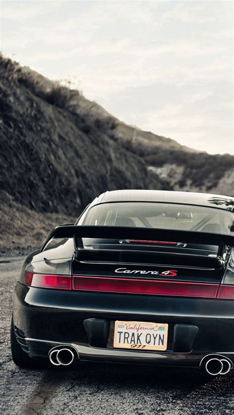 Porsche 911 Carrera 4s Black Wallpaper