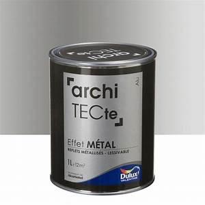 Peinture A Effet Metal : peinture d corative architecte effet m tal dulux ~ Dailycaller-alerts.com Idées de Décoration
