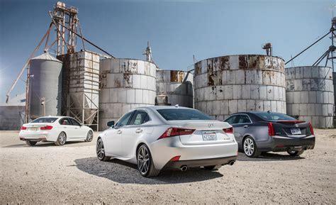 Cadillac Ats Vs Bmw 335i by 2014 Lexus Is350 Vs Bmw 335i Vs Cadillac Ats 3 6