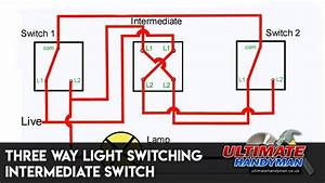 3 Way Switching Intermediate Switch Light Switch Wiring Wiring Diagram