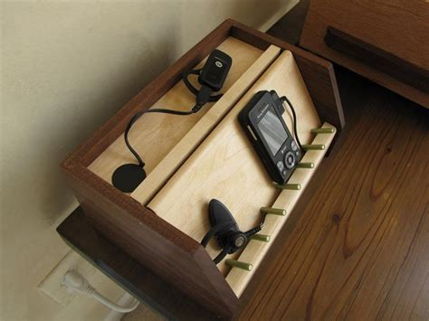 small electronic device charging station  greg wurst