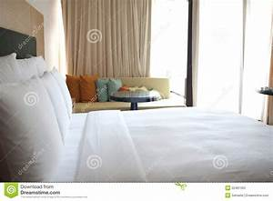 hotel room bed and sofa stock photos image 22481363 With hotel room with sofa bed