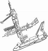 Coloring Space Shuttle Pages Nasa Station International Template Mir Sketch Clipart Clipartpanda Printable Getdrawings Wowtoyz Adult Getcolorings sketch template