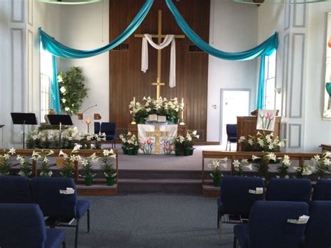 screen decoration at back of altar easter altar worship designs altars and easter