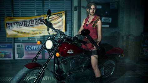 claire redfield resident evil  remake