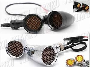 Metal Led Turn Signal Light For Kawasaki Vulcan Classic Vn 400 Vn500 Vn800 Vn 900 1200 1500 1600