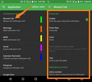 A Guide To Customizing Android Phone Notification Light