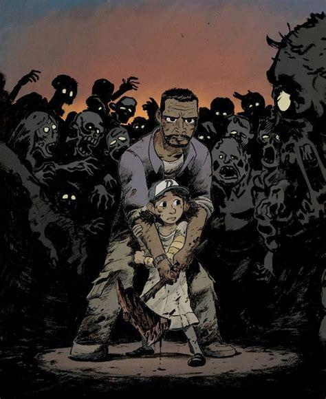 The Walking Dead Game Fan Art By Ulysse Malassagne Twdg