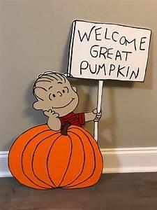 Welcome, Great, Pumpkin, Linus, Charlie, Brown, Peanuts
